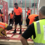 NZMA students help create a Men's Shed for MHW-2019